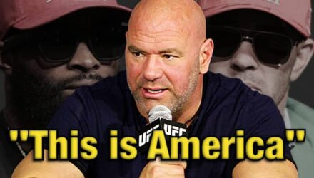 Dana White over Tyron Woodley and Colby Covington - This is America