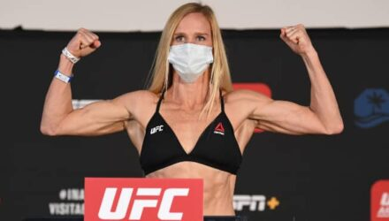Holly Holm UFC Fight Island 4 weigh-in