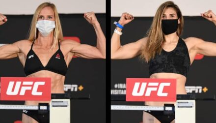 Holly Holm vs Irene Aldana - UFC Fight Island 4