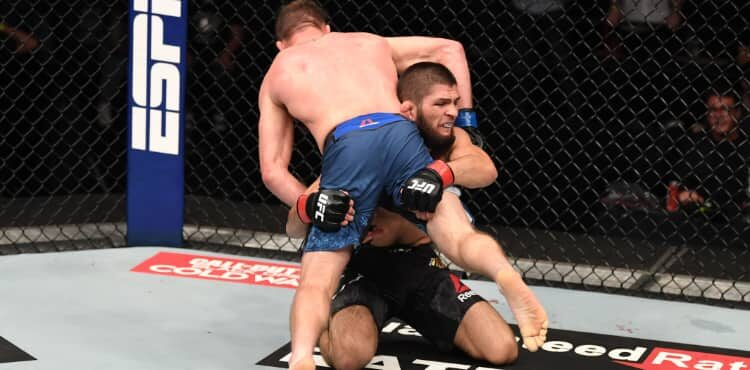 Khabib Nurmagomedov shoots on Justin Gaethje in UFC 254 Performance of the Night