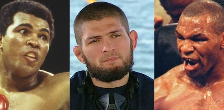 Khabib Nurmagomedov responds to being compared to Mike Tyson and Muhammad Ali | UFC 254 thumbnail
