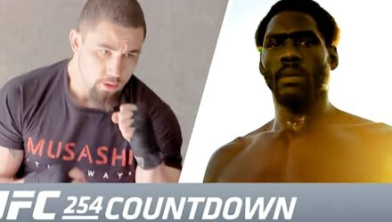 UFC 254 Countdown Whittaker vs Cannonier