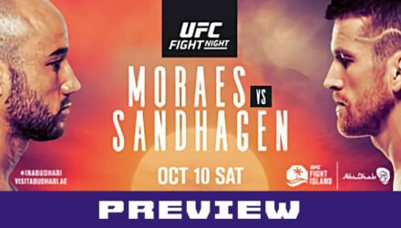 UFC Moraes vs Sandhagen preview