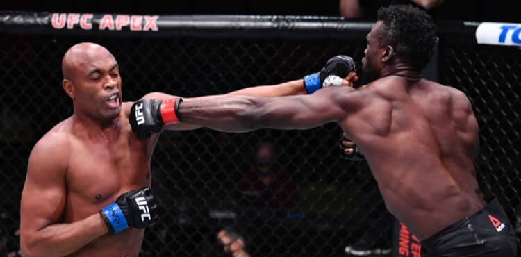 Ufc Vegas 12 Results Uriah Hall Stops Anderson Silva In Icon S Final Ufc Bout Mmaweekly Com