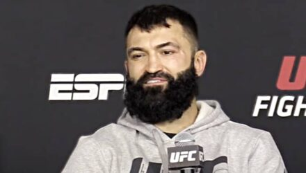 Andrei Arlovski UFC Vegas 13 post-fight