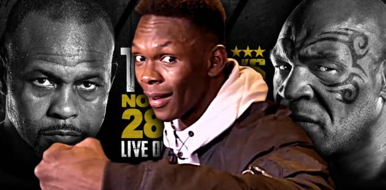 zhdsdtiihvorcm https www mmaweekly com ufc champ israel adesanya to commentate at mike tyson vs roy jones jr