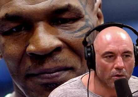 Mike Tyson and Joe Rogan