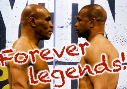 Mike Tyson vs Roy Jones Jr forever legends