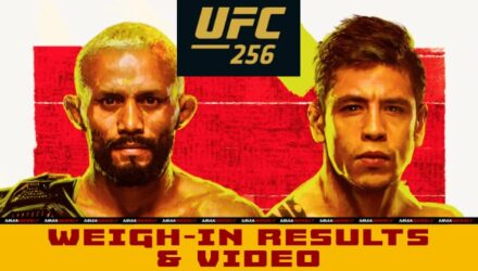UFC 256 Figueiredo vs Moreno weigh-in results & video