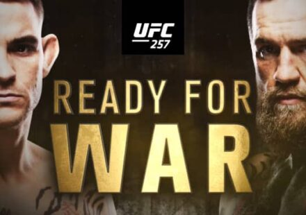 UFC 257 Poirier vs McGregor Ready for War