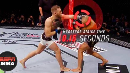 Conor McGregor knockout science