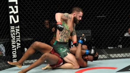 Michael Chiesa full mount on Neil Magny at UFC Fight Island 8