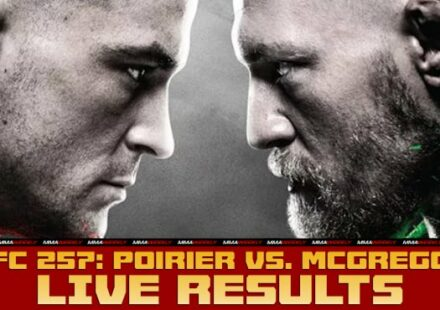 UFC 257 Poirier vs McGregor 2 live results