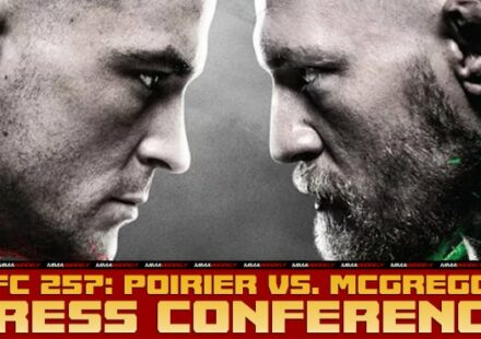 UFC 257 Poirier vs McGregor 2 press conference