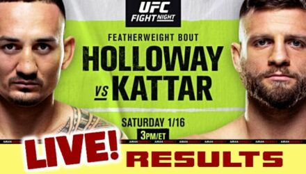 UFC Fight Island 7 live results