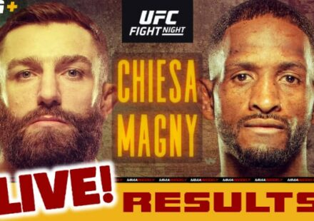 UFC Fight Island 8 live results