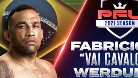 Fabricio Werdum PFL 2021 Heavyweight