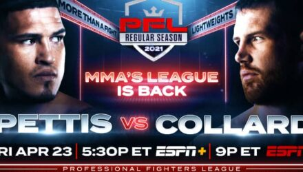 PFL 1 Anthony Pettis vs Clay Collard
