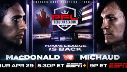 2021 PFL 2 Rory MacDonald vs David Michaud