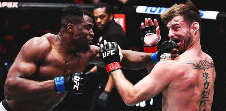 Francis Ngannou rubber faces Stipe Miocic at UFC 260