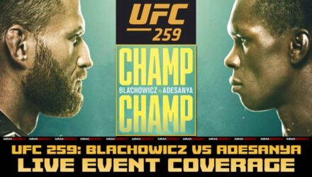 UFC 259 Blachowicz vs Adesanya live event coverage