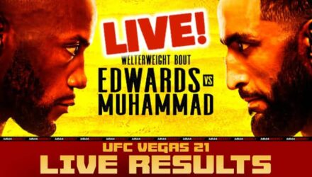 UFC Vegas 21 Live Results Edwards vs Muhammad
