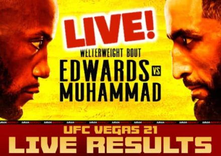 UFC VEGAS 21 Live Secure Edwards VS Muhammad