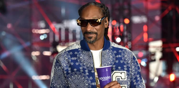 Snoop Dogg at Triller Fight Club