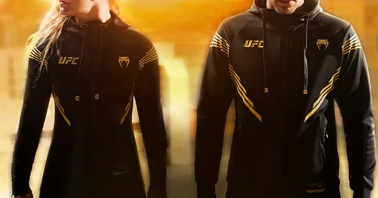 UFC Venum uniforms - fight kits