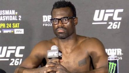 Uriah Hall UFC 261 post fight