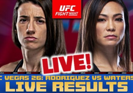 UFC Vegas 26 live results: Rodriguez vs Waterson